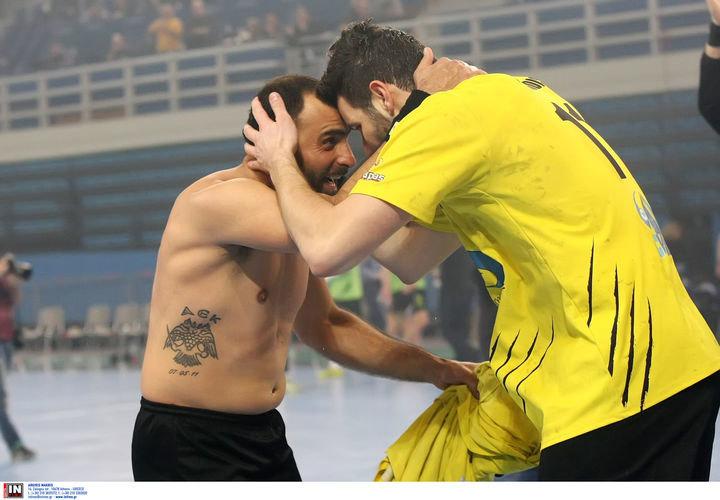 ΑΕΚ - Φίλιππος Βέροιας 30-24 (ΤΕΛΙΚΟ), 18η αγωνιστική Α1 χάντμπολ