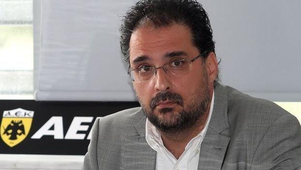 """Αλεξίου στο enwsi.gr: """"Έχει δρομολογηθεί η επόμενη μέρα της ΑΕΚ στην Α1»"""