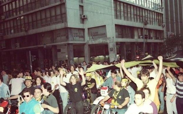 Το μεγάλο «κιτρινόμαυρο» πάρτι για το πρωτάθλημα της ΑΕΚ σε όλη την Αθήνα! (VIDEO-ΦΩΤΟ)