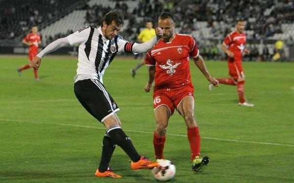 Δύσκολα θα παίξει ο Λάζοβιτς, στο αυριανό κρίσιμο ματς της Παρτιζάν με την Σπαρτάκ Ζλάτιβ