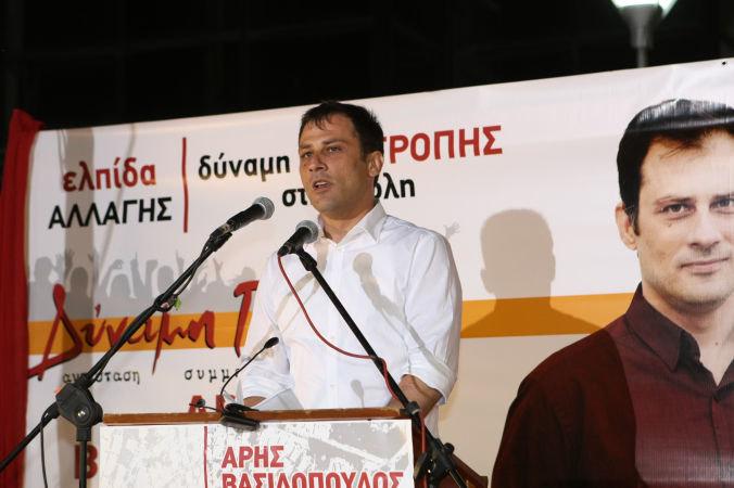 Βασιλόπουλος: «Ψήφος με ξεκάθαρη εντολή για εμάς»