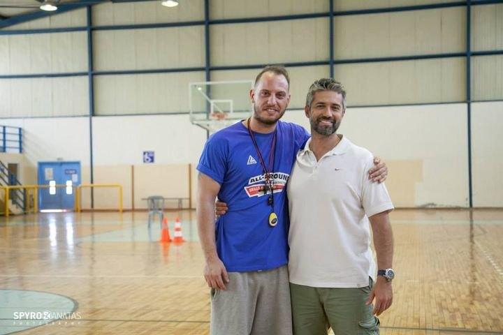 Ο Ζιάγκος στο All-Around Basketball Skills Academy