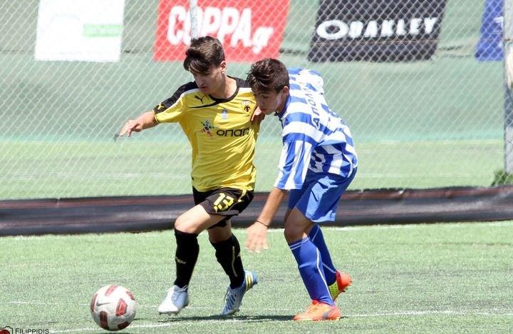 ΦΩΤΟ από το ΑΕΚ - Απόλλων Σμύρνης (Elite Neon Cup 2014)