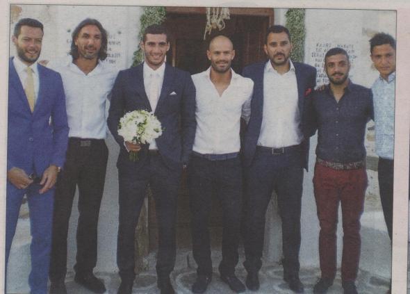 Αραβίδης-Κυργιάκος στον γάμο Πετρόπουλου στην Πάρο (ΦΩΤΟ)