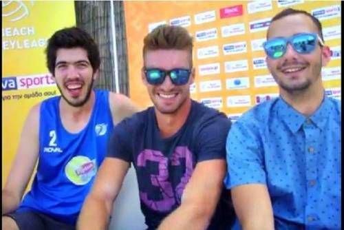 """Τρεις """"κιτρινόμαυροι""""παίζουν Beach Volley και περιμένουν τις εξελίξεις (VIDEO)"""