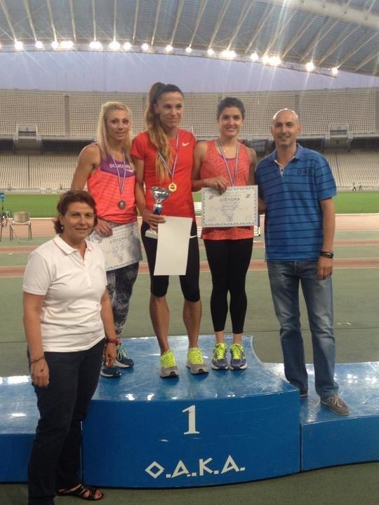 Χάλκινο μετάλλιο για την ΑΕΚ η Θεοδωρακοπούλου στα 800μ.