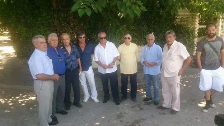 Στο Ζάππειο οι Παλαίμαχοι της ΑΕΚ (ΦΩΤΟ)