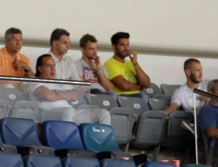 Βούρας-Καραγκιολίδης είδαν μαζί το ματς στο ΟΑΚΑ
