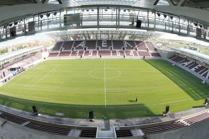 Πάει... «AEL FC Arena» το φιλικό της ΑΕΚ με την Λάρισα