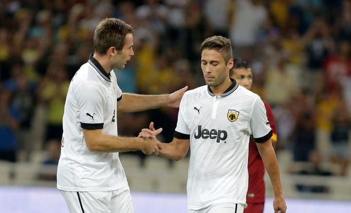 Δείτε τα γκολ του φιλικού αγώνα της ΑΕΚ με την Ρόμα (VIDEO)