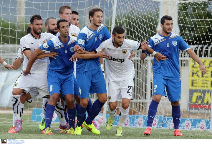 Φωκικός - ΑΕΚ 0-1 (ΤΕΛΙΚΟ)