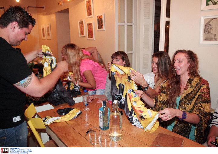 """ΦΩΤΟ από την εκδήλωση της ΑΕΚ στην """"Κίτρινη Γκαζόζα"""""""