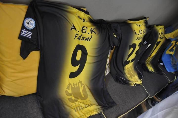 Παρουσιάζει τις νέες εμφανίσεις των Ακαδημιών futsal η ΑΕΚ