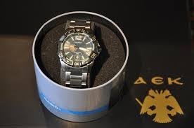 Το ρολόι ΑΕΚ και η συμβολική σημασία του