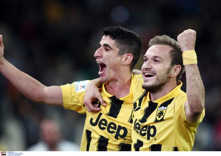 Δείτε τα γκολ της νίκης της ΑΕΚ με 2-1 επί του Απόλλωνα Σμύρνης (VIDEO)