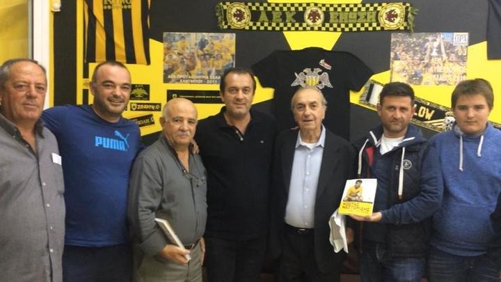 O Νεστορίδης στο Club της Νέας Μανωλάδας