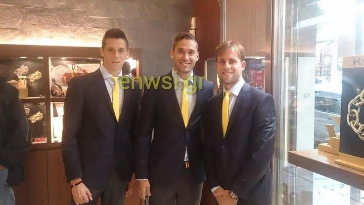 Ντακόλ, Κορδέρο και Ζόριτς φόρεσαν το συλλεκτικό ρολόϊ της ΑΕΚ (VIDEO)