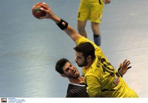 nikolaidis paok aek handball