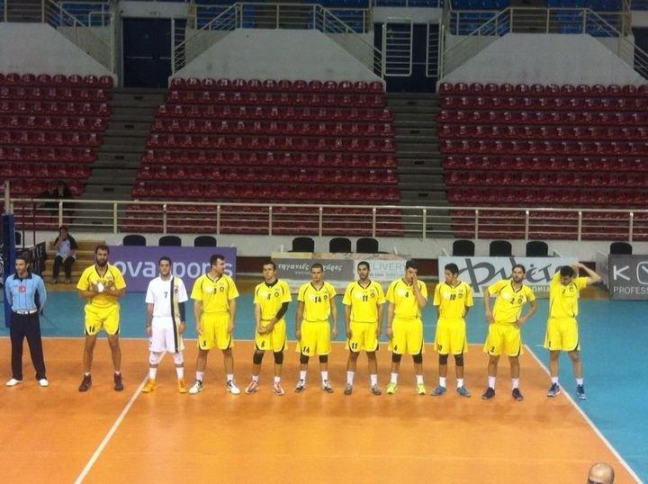 ΠΑΟΚ - ΑΕΚ 7η αγωνιστική βόλεϊ ανδρών (3-0 σετ ΤΕΛΙΚΟ)