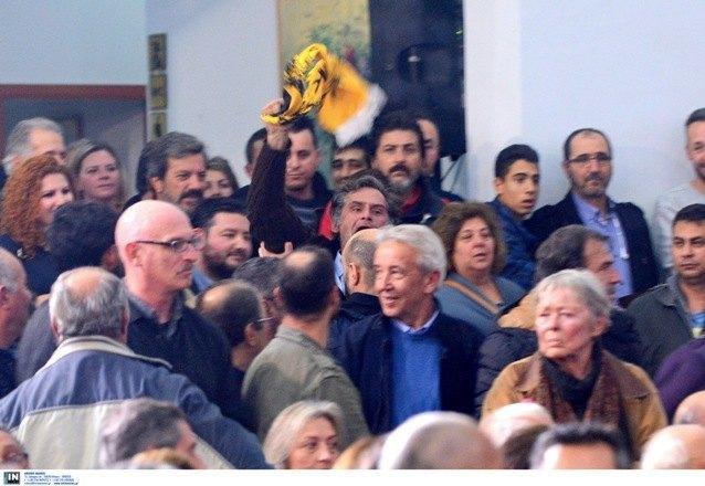 Ο παλαίμαχος Γιώργος Τανίδης στο επεισόδιο με τον Τσίπρα (ΦΩΤΟ)