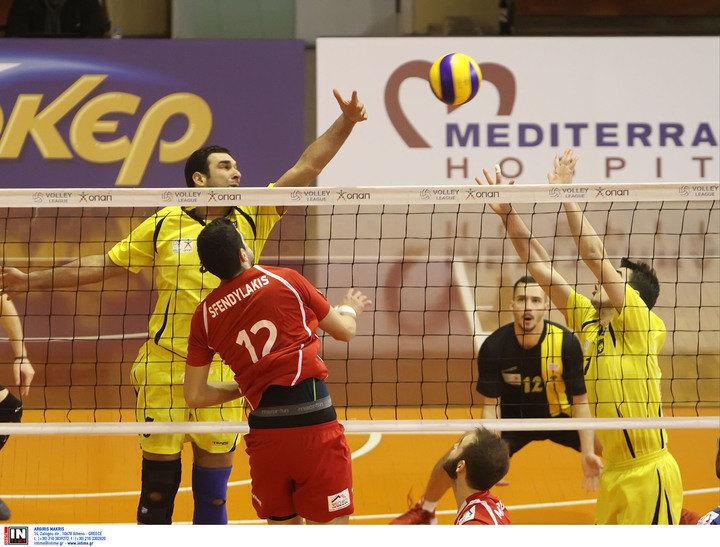 AEK - Eθνικός Αλεξανδρούπολης 2-3 σετ (ΤΕΛΙΚΟ)