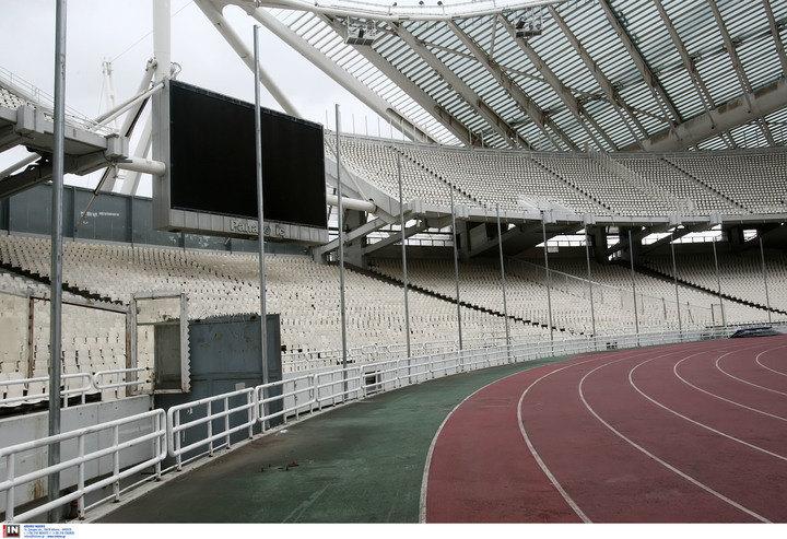 ΦΩΤΟ από τις εργασίες στο ΟΑΚΑ για το ντέρμπι ΑΕΚ - Ολυμπιακός