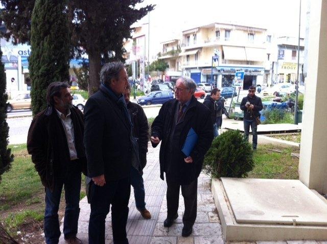 Το enwsi.gr στη κρίσιμη συνάντηση ΑΕΚ - Δήμου ΝΦ για το γήπεδο (ΦΩΤΟ-VIDEO)