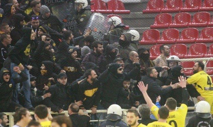 Κόλαφος το φύλλο αγώνα για την ΑΕΚ και τα επεισόδια στην Πυλαία