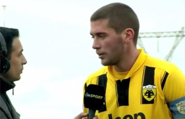 Ανταμ Τζανετόπουλος, ο 8ος captain της ΑΕΚ