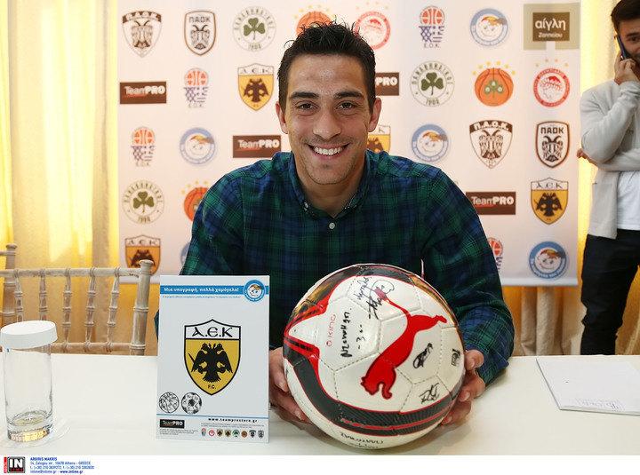 Λαμπρόπουλος: «Οι μεγάλες ομάδες όπως η ΑΕΚ να βοηθήσουμε το Χαμόγελο του Παιδιού»