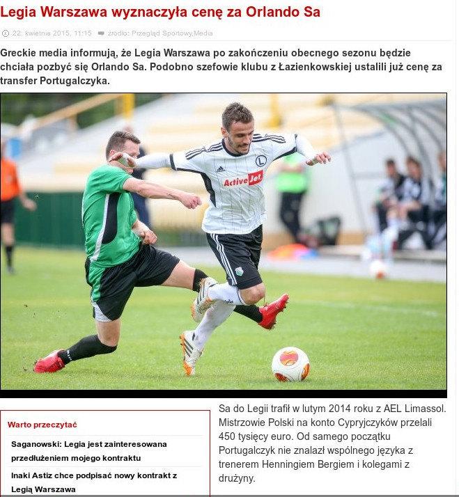 Futbolnews.pl: «Δίνει 500.000 για τον Σα η ΑΕΚ»