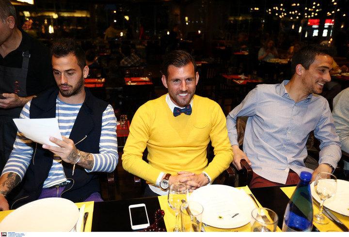 ΦΩΤΟ από το δείπνο του Μελισσανίδη στην ΑΕΚ