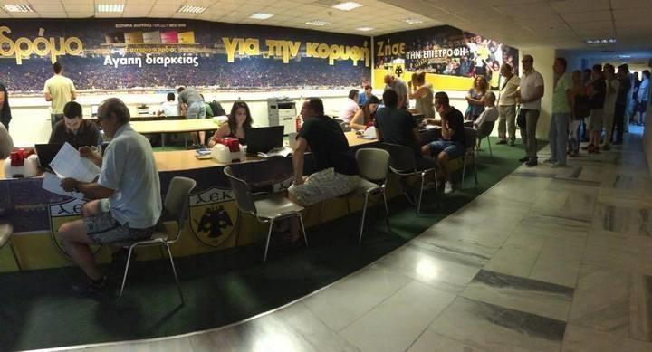 Απίστευτο και όμως αληθινό: ουρά 100 ατόμων για αγορά διαρκείας στο ΟΑΚΑ (ΦΩΤΟ)
