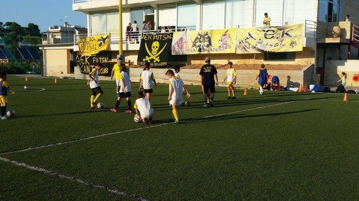 Ποδόσφαιρο σάλας: Δοκιμαστικά Κ13 (ΦΩΤΟ, VIDEO)