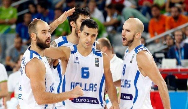 Ελλάδα-Βέλγιο στους «16» του Eurobasket