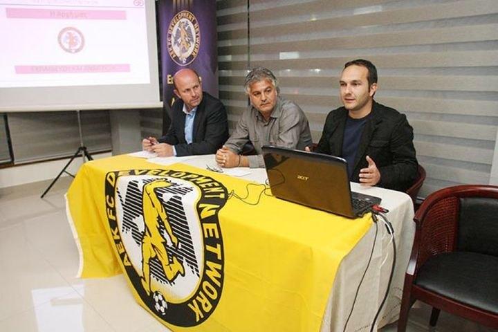 Ο Στράντζαλης Περιφερειάρχης Πελοποννήσου της ΑΕΚ (ΦΩΤΟ)