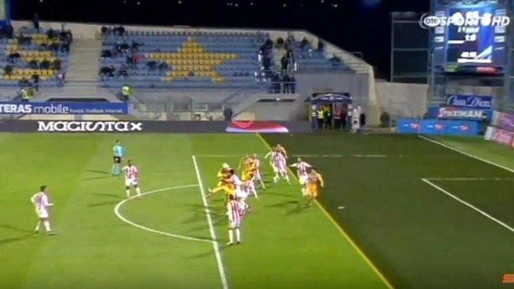 Ακύρωσαν κανονικό γκολ του Αστέρα για το 2-0 (VIDEO)
