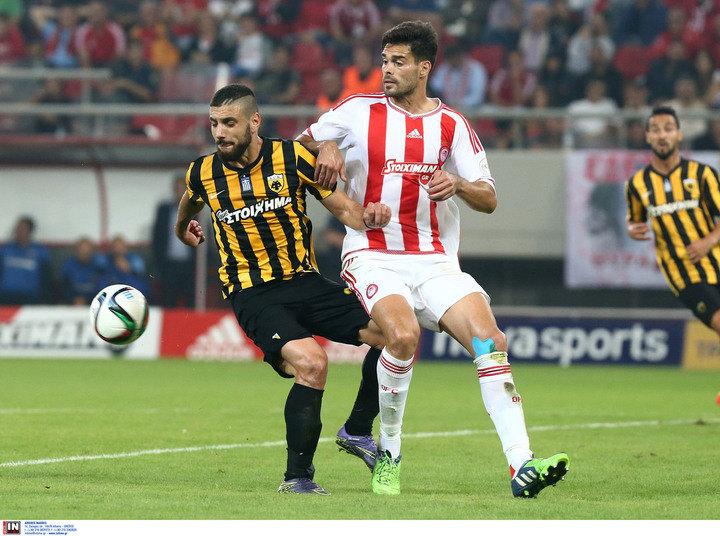ΑΕΚ - Ολυμπιακός 1-0 (ΤΕΛΙΚΟ)