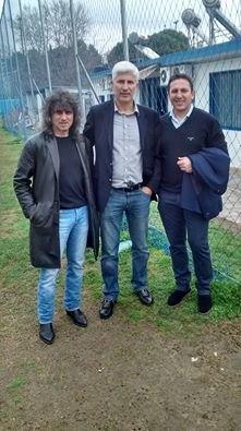 Τα είπαν Μανωλάς, Παπαδόπουλος, Κωφίδης, πριν τη σέντρα (ΦΩΤΟ)