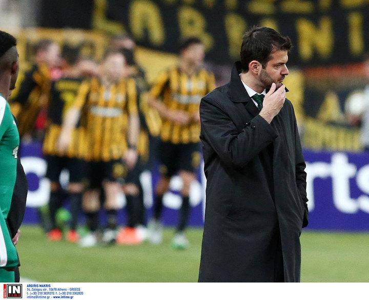 Στραματσόνι: «Το ματς κρίθηκε από ένα λάθος»