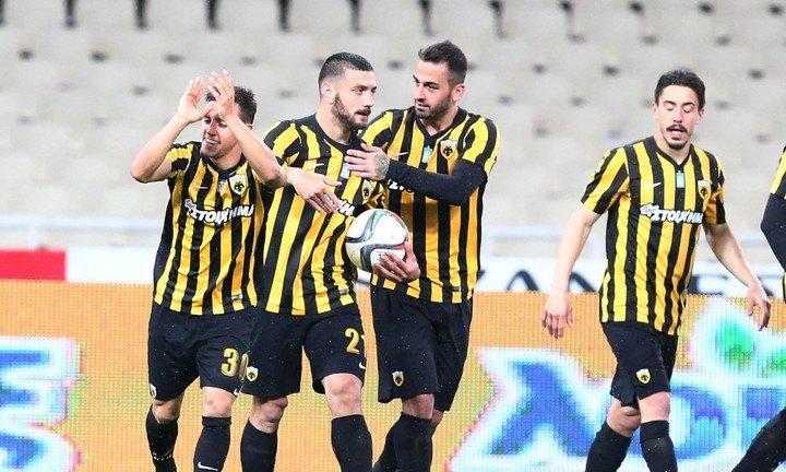 ΑΕΚ - Πανθρακικός 3-0 (ΤΕΛΙΚΟ)
