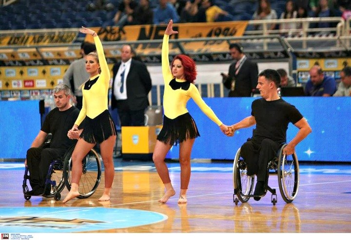 Η χορευτική παράσταση στο ΟΑΚΑ (ΦΩΤΟ)