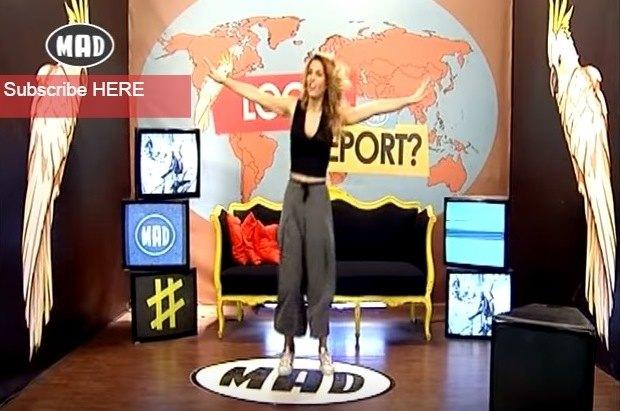 Ξέφρενο πανηγύρι και στο MAD ΤV για την κούπα της ΑΕΚ – Τρελάθηκε η Μαντώ! (VIDEO)