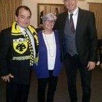Το Sydney AEK Fan Club τίμησε τον Οικονομόπουλο (ΦΩΤΟ)