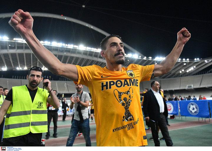 Σιμόες: «Η ΑΕΚ είναι ξανά εδώ, ο πρώτος από τους πολλούς τίτλους»