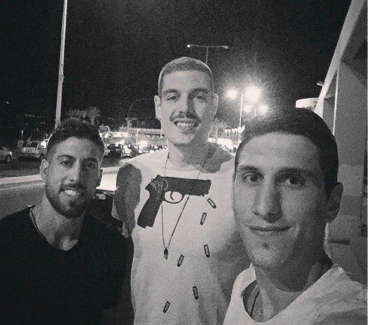 Λαρεντζάκης, Σαρικόπουλος και Αθηναίου στην Κρήτη (ΦΩΤΟ)