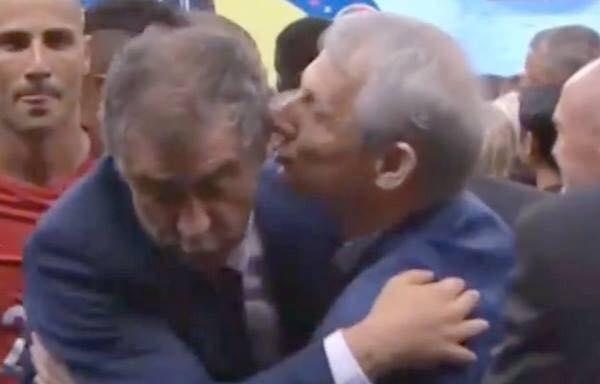 Σάντος - Γκιρτζίκης: To φιλί του προδότη...