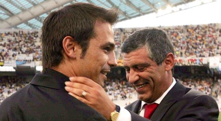 Ο Νικολαΐδης πανηγυρίζει την πρόκριση του Σάντος (ΦΩΤΟ)