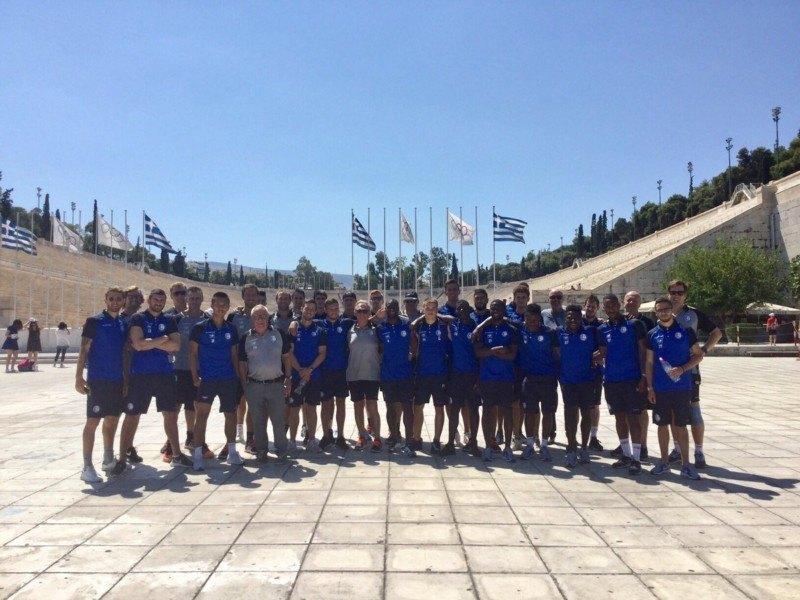 Το «ευχαριστώ» της Γάνδης στην ΑΕΚ και στην Αθήνα (ΦΩΤΟ)