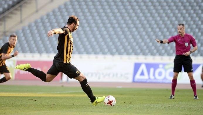 Και φέτος ο Αλμέιδα το πρώτο επίσημο γκολ της ΑΕΚ